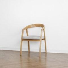 [오크] D형 의자 그레이_(1364943)