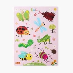 두조각 자석퍼즐 -곤충(MRMP - 044)