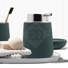 존덴마크 노바 솝디스펜서 욕실용품 딥그린