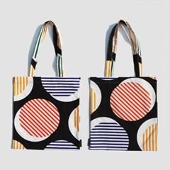 Geometric Circle Bag (패브릭 가방)
