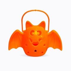LED 점등 소리나는 박쥐램프 [오렌지]_(11798094)