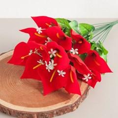 18대벨벳카라부쉬 50cm 조화 성묘 꽃 인테리어 FAGAFT_(1424809)