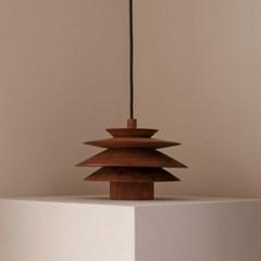 [로렌] 보우 우든 펜던트 bow wooden pendant