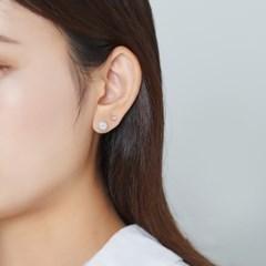 [SET] 심플볼 귀걸이 + 큐빅 귀걸이