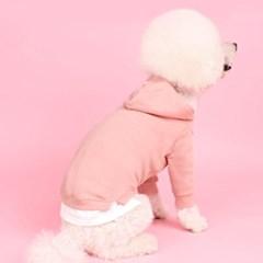 레이어드후드(indi pink) [어썸키즈] 강아지옷 대형견옷 S-4XL