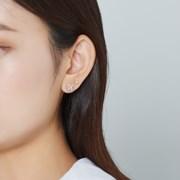 [SET] 플라워 귀걸이 + 큐빅 귀걸이
