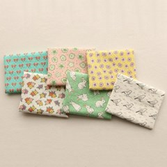 [Fabric] 야생화와 친구들 씨지엠 6ixieme cut Linen