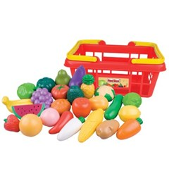 [레드박스] 과일과 야채 바구니세트(25P) (612R22220-1)