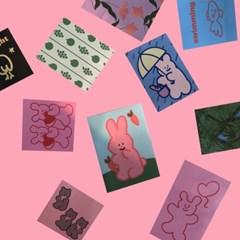 [뮤즈무드] our happy muse mood sticker pack