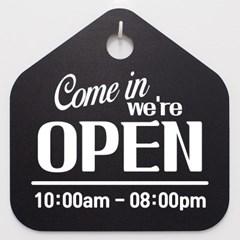 영업시간안내판_001_Come in we are OPEN_(992930)