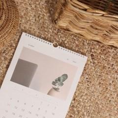 2020 Slow life wall calendar