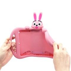 아이패드 프로10.5 (A1701/ A1709) 토끼 캐릭터 실리콘케이스