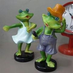 노래하고 춤추는 개구리 2P세트