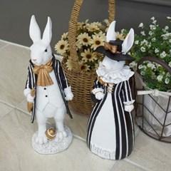 턱시도 토끼 커플 2P set_(1689555)