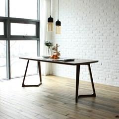 빌치 고무나무 원목 6인 식탁 테이블 1800_(1265108)