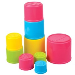 [레드박스] 컵쌓기 놀이 9PCS (612R25501-1)