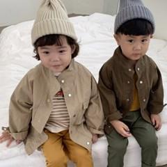 오) 모던 아동 야상자켓