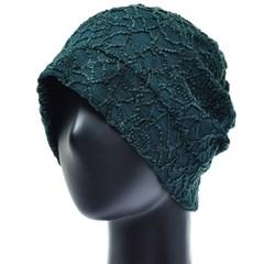 [더그레이]HSS04.플라워 네트 여성 비니 엄마 모자