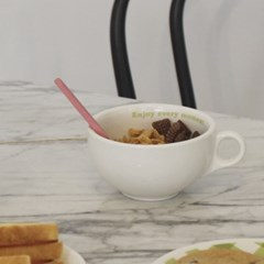 enjoy cereal bowl