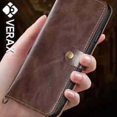 아이폰6플러스 카드수납 투버튼 소가죽 케이스 P131_(1845159)
