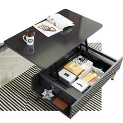 트리빔하우스 1000 리프트 라운드형 수납 테이블
