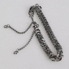 남자 팔찌 우정 힙합 써지컬 스틸 체인 CL bracelet_(997978)