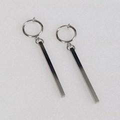 남자 귀걸이 남녀공용 써지컬 스틸 귀찌 드롭 DEE_(997509)
