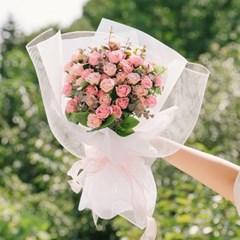 프레시어스 자나 장미 50송이 프로포즈 꽃다발-고백꽃다_(100817513)