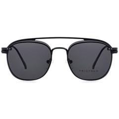 트리시클로 명품 편광 클립온 안경테 선글라스 TDC3041-01(49)