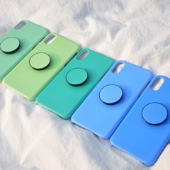 단색 하드 스마트톡 케이스 세트 아이폰 7 8 X S XR MAX 케이스