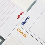 Memo Pad - To do, Check, Memo (메모패드 3종)