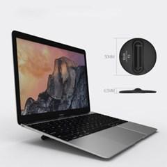 엘바 휴대용 숏플림 노트북 거치대 받침대 F2