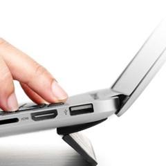 엘바 휴대용 롱플립 노트북 거치대 받침대 F1