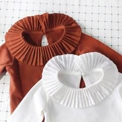 돌핀웨일 주름카라 티셔츠(66-90cm)