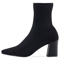 SPUR[스퍼] 삭스부츠 OF8011 Pointy socks boots 블랙