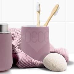 존덴마크 노바 텀블러 핑크 욕실용품 칫솔홀더 양치컵