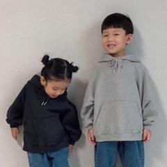 엔) 돼지코 아동 후드 티셔츠
