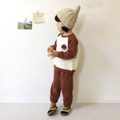 에) 가을자수 아동 상하세트