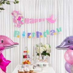 생일 캐릭터가랜드 HAPPY BIRTHDAY [인어공주]_(11812109)