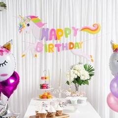 생일 캐릭터가랜드 HAPPY BIRTHDAY [유니콘]_(11812110)