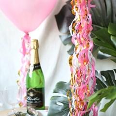 파티 벌룬태슬-핑크
