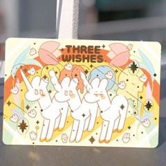 THREE WISHES 엽서