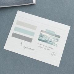 아르떼 마스킹테이프 3P SET - Winter sea