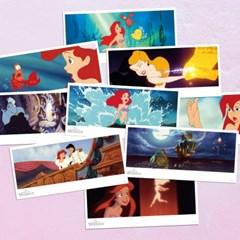 디즈니 인어공주 엽서세트