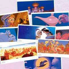 디즈니 알라딘 엽서세트