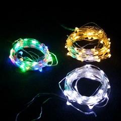멀티 LED 100P드럼전구 투명선 트리 전구 소품 TRDELB_(1450242)