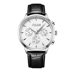 [쥴리어스 옴므] JAH-107 남성시계 /손목시계 가죽밴드