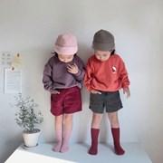 페) 아동 골덴 반바지