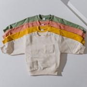 원) 색감 투포켓 아동 맨투맨