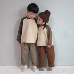엔) 스판비조 아동 팬츠